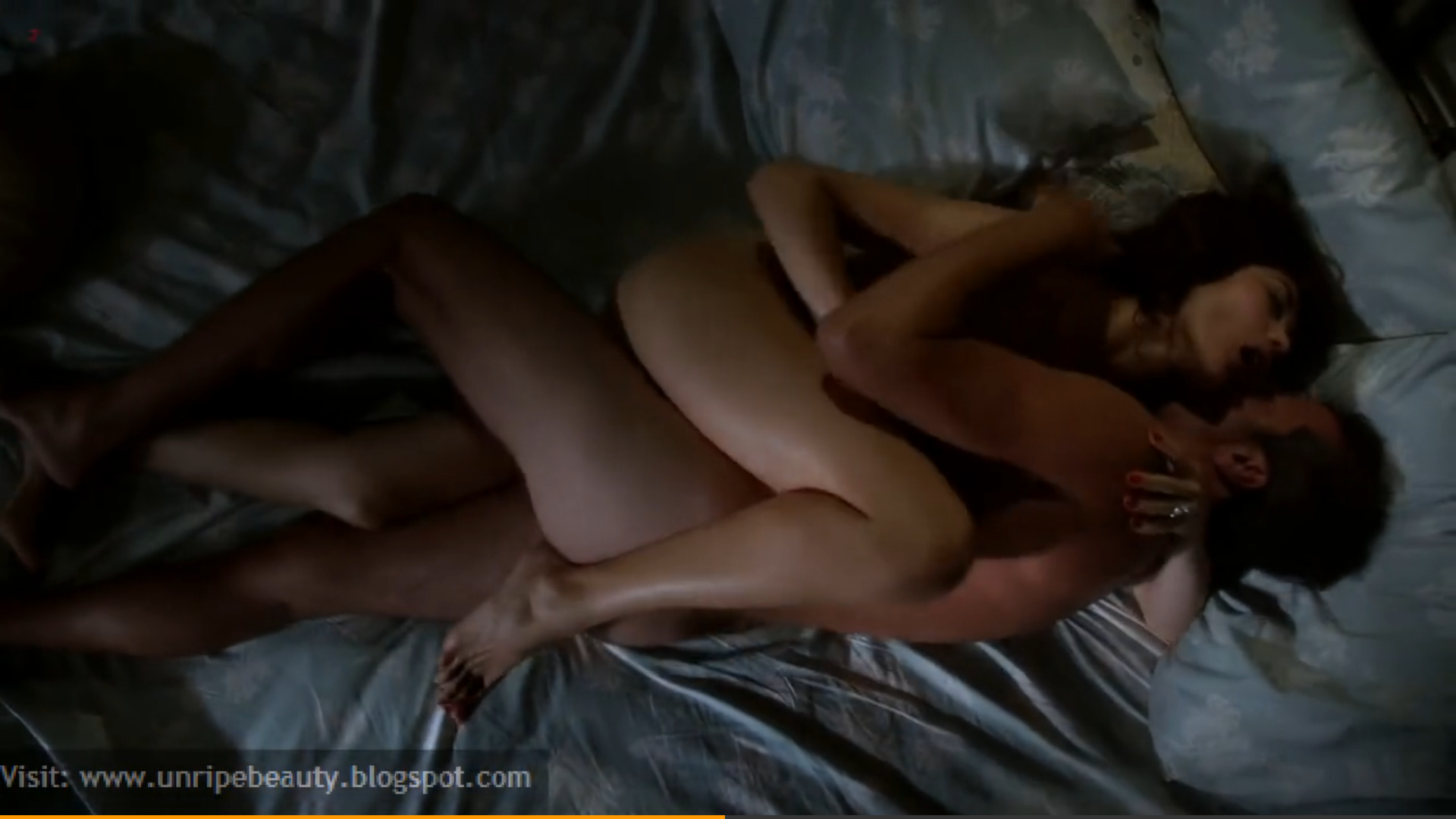 Hot couple foreplay